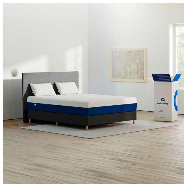 AS2-K Amerisleep AS2 Back & Stomach Sleeper Medium Firm Memory Foam Bed Mattress, King 6