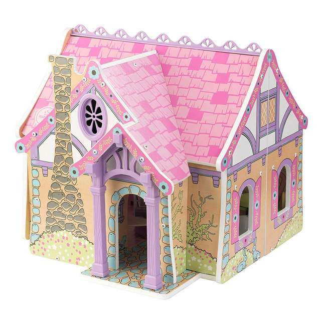 KDK-65930 KidKraft Enchanted Forest Wooden Dollhouse 8