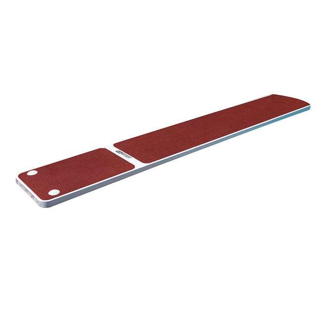 66-209-576S2R S.R. Smith TrueTread 6-Foot Diving Board, Red/White