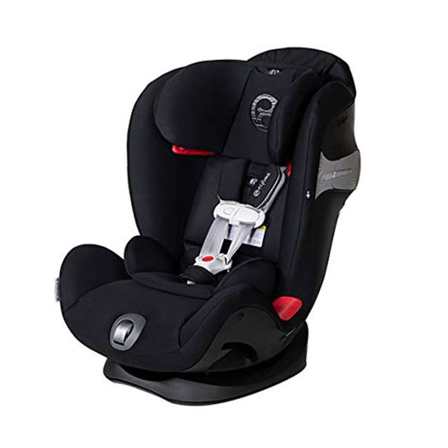 518002873 Cybex Gold Eternis S All in 1 Convertible Infant Baby Car Seat, Lavastone Black