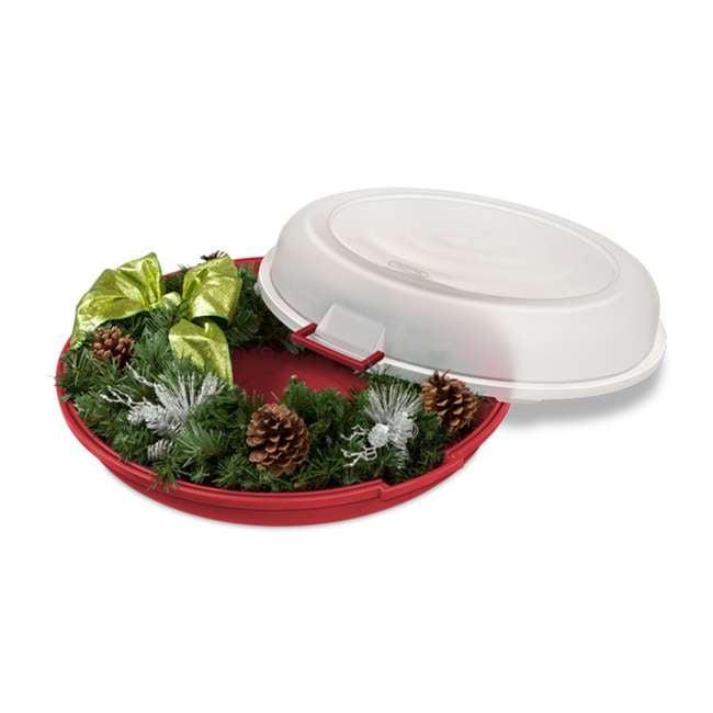 19746606 Sterilite Nesting Christmas Wreath Box 1