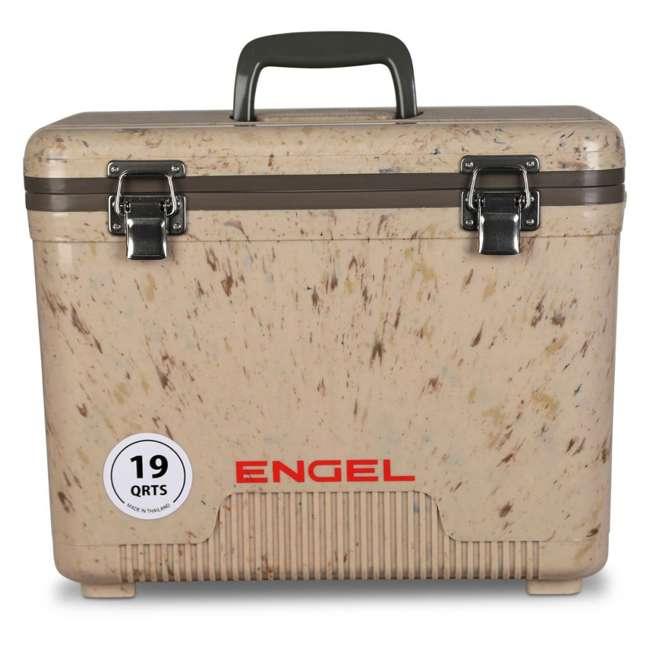 UC19C1 Engel 19-Quart Lightweight Dry Box Cooler, Grassland 1
