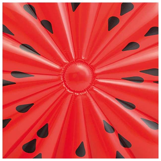 56283EP + 66639E Intex  72-Inch Watermelon Island Raft | Intex 120V Quick Fill AC Air Pump 4