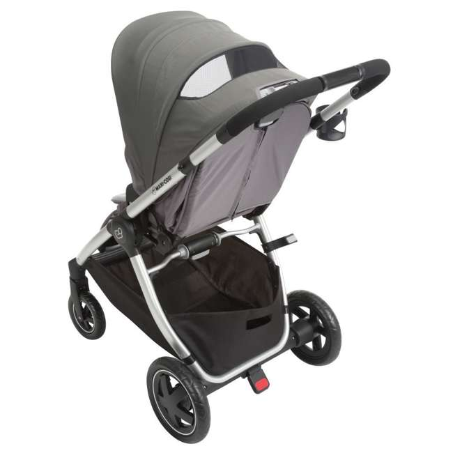 TR362CTF Maxi-Cosi Adorra Stroller and Car Seat Travel System, Loyal Gray 7