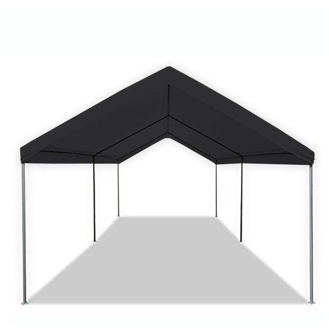 CVAN22006200050 Caravan Canopy Domain 10 x 20 Foot Straight Leg Instant Canopy, Black 1