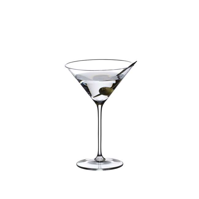 6416/37 Riedel Vinum Crystal Inverted Cone Shaped XL Martini Glass, 9.52 Ounce (2 pack) 2