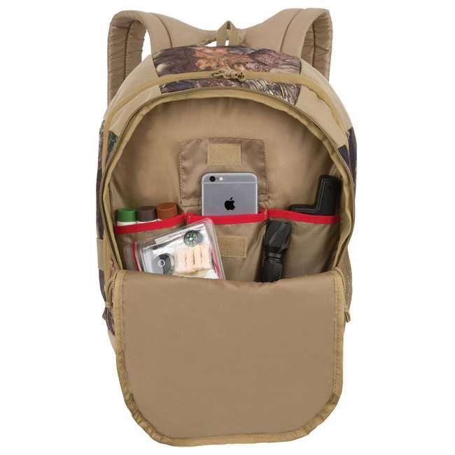 FCB001FLP-MBUC Fieldline Black Canyon Multi Pocket Camouflage Adjustable Hunting Backpack 2