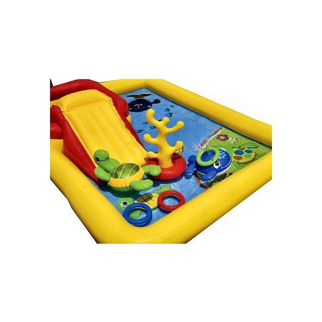 4 x 57454EP-U-A Intex Ocean Play Center Kids Inflatable Wading Pool - 57454EP (Open Box)(4 Pack) 2