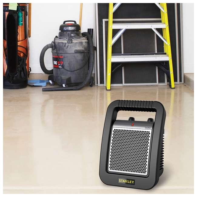 LKO-675945-TN Lasko 675945 Stanley Portable Electric 1500W Ceramic Utility Room Space Heater 5