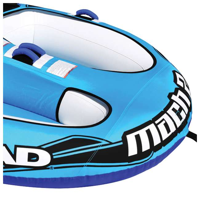 AHM2-2 Airhead Mach 2 Inflatable 2-Rider Water Towable Tube 4