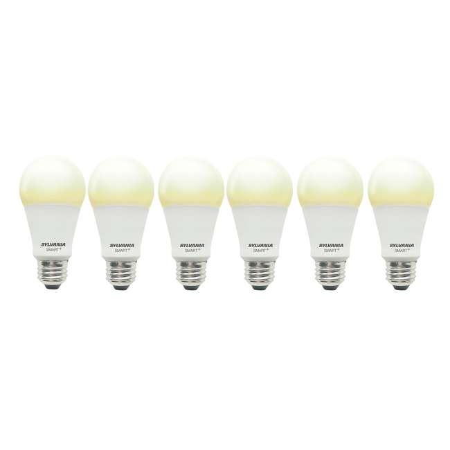6 x SYL-74579 Sylvania Smart+ Bluetooth A19 LED Light Bulb (6 Pack)