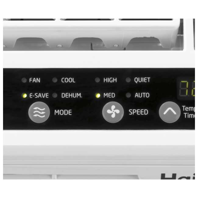 ESAQ406T-U-B  Haier Serenity Series 6,000 BTU 3 Speed Window Air Conditioner(Used) (2 Pack) 8