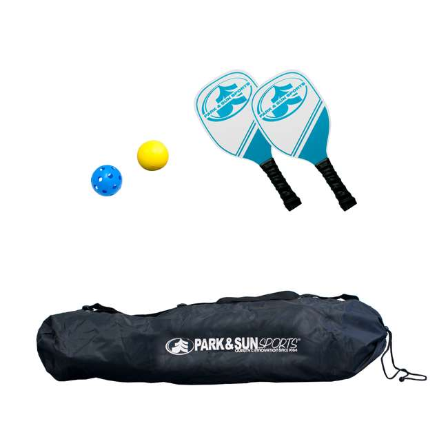 PS-PBTN-15 Park & Sun Sports 15-Foot Portable Pickleball and Tennis Set (2 Pack) 1