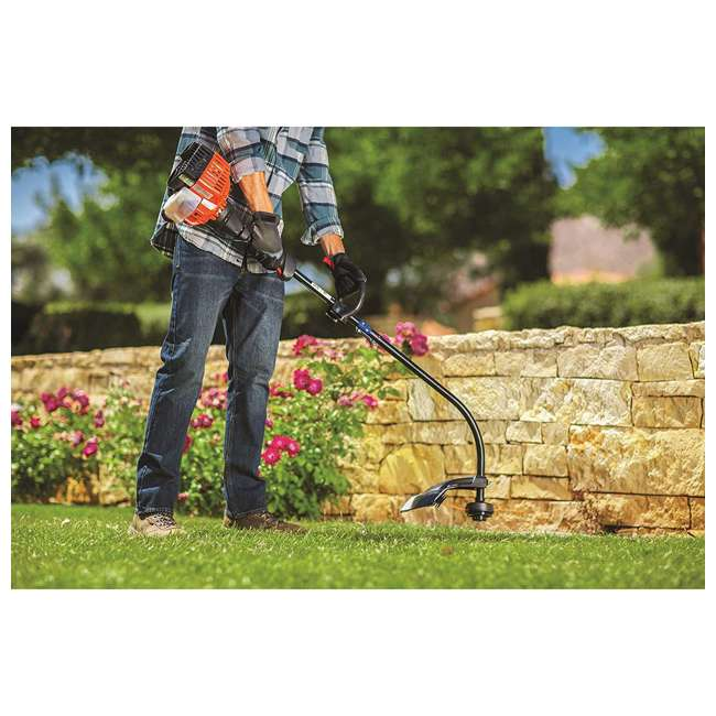 RM-41ED110G983 Remington Rustler Curved Shaft String Trimmer & Edger 3
