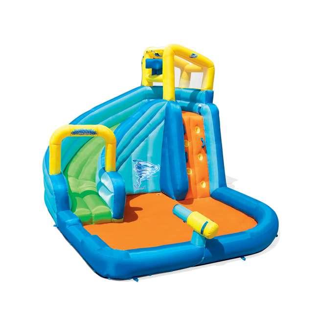 53319E-BW Bestway H2OGO! Hydrostorm Splash Mega Inflatable Water Park