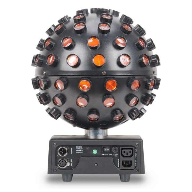 STARBURST + MINISTROBE-LED American DJ Starburst HEX LED Sphere Lighting Effect and Mini LED Strobe Light 3