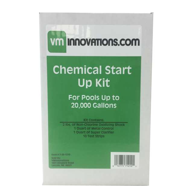 6 x 20K-7-28-1210 Pool Solutions Start-Up Chemical Opening Kits (6 Pack) 4