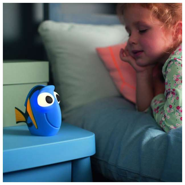 PLC-7176736U0 + PLC-7176890U0 Philips Kids Disney Pixar Finding Dory Flashlight and Soft Pal Nightlight Friend 8