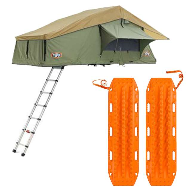 01ASK051601 + MTX02SO Tepui Explorer Autana 3 Person Car Camp Roof Top Tent & Vehicle Recovery Device