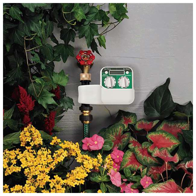 3 x ORBIT-62040 Orbit Irrigation Programmable 2 Dial Digital Hose Faucet Watering Timer (3 Pack) 3