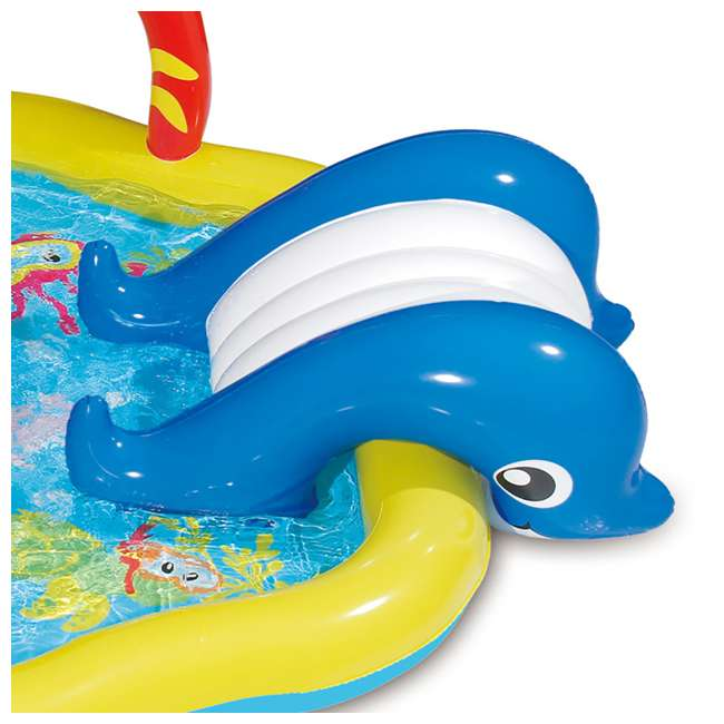 KA0047000167 + KA0040000167 Summer Waves Jungle Animal and Under the Sea Kiddie Pools 10