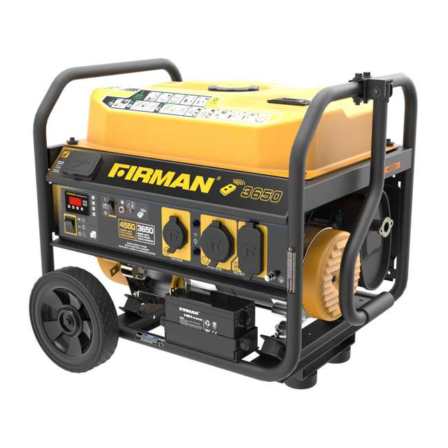 P03608 Firman P03608 3650W Wheeled CARB Portable Generator with Remote 2