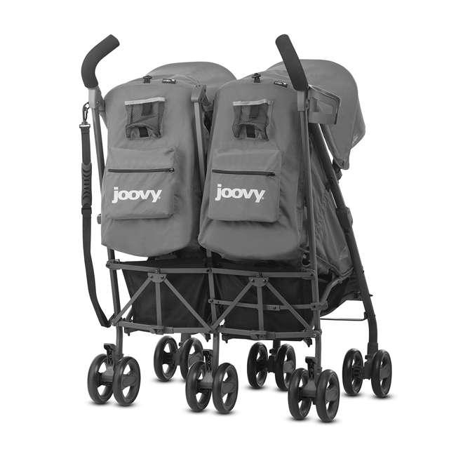 JVY-8089 Joovy Twin Groove Double Ultralight Umbrella Stroller, Charcoal 1