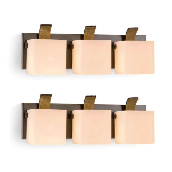 PLC-4109802U9 Philips Colton Wall Lamp Oiled Bronze Light (2 Pack)