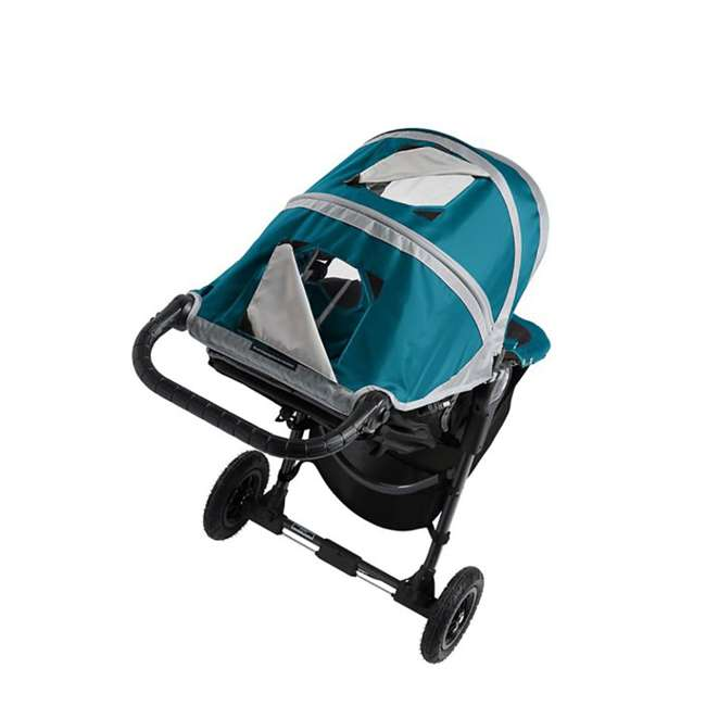 1959401 Baby Jogger City Mini GT Folding Travel Stroller, Teal/Gray 5