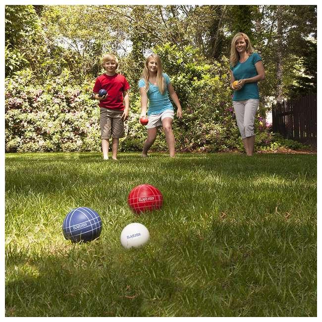 6038655 SwimWays Kelsyus 6038655 Premium 100mm Outdoor Play Bocce Ball Game Set Kit 3