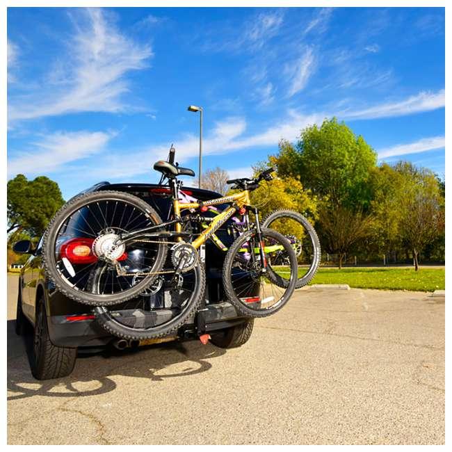 Allen Sports 2 Quot Amp 1 25 Quot Deluxe Locking 2 Bike Vehicle Rack
