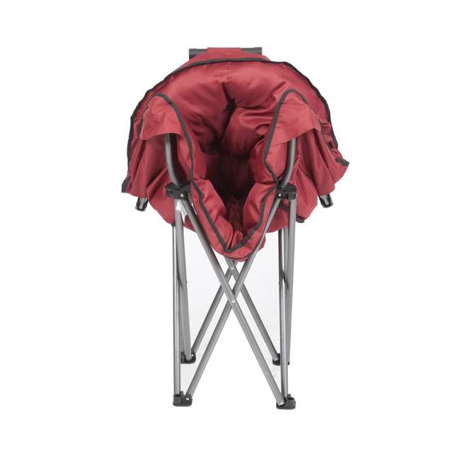 CHAIR-RED-ZS0063 Mac Sports Portable Folding Padded Club Chair, Wine Red 2