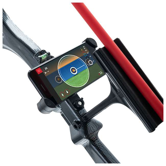 CF/ACCUBOW-4 + A-PHMOUNT-01 AccuBow Bow Hunting Archery Trainer with Adjustable Resistance + Phone Mount Accessory  5