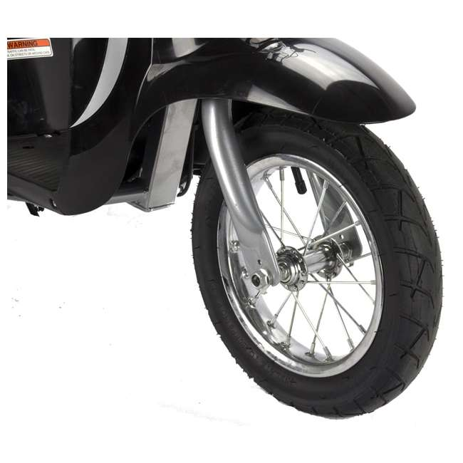 15130601 + 97778 + 96785 Razor Pocket Mod Scooter (Black) with Helmet, Elbow and Knee Pads 5