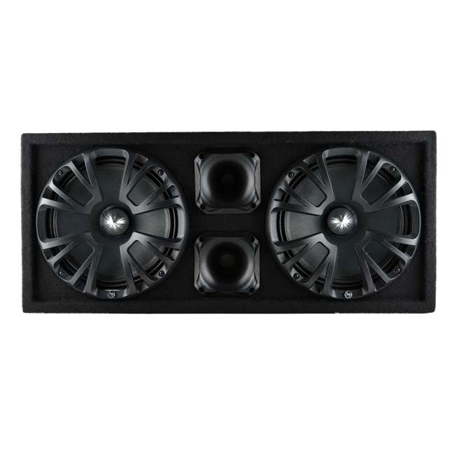 AP-CHULD-102 AudioPipe AP-CHULD-102 Sealed Dual 10-Inch Subwoofer Enclosure