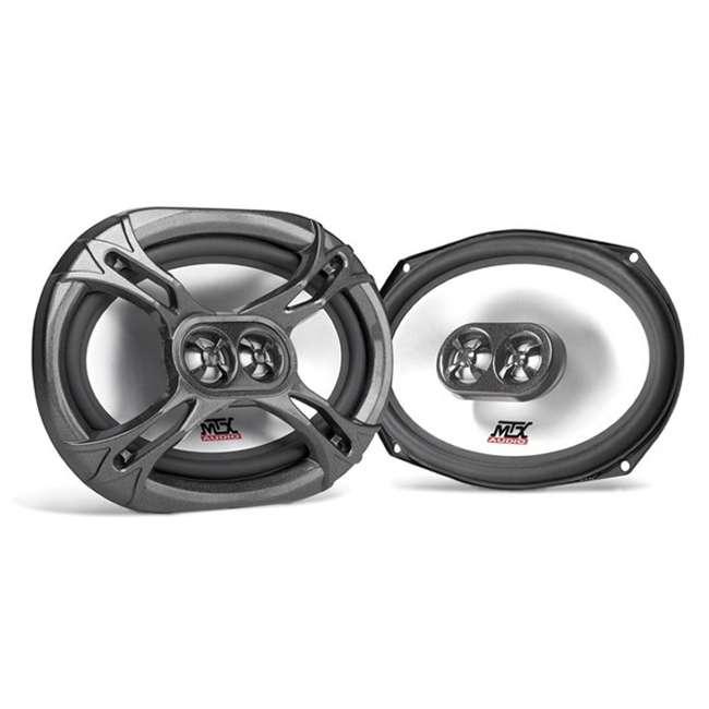 TDX6903 MTX TDX6903 6x9-Inch 400W 3-Way Speakers