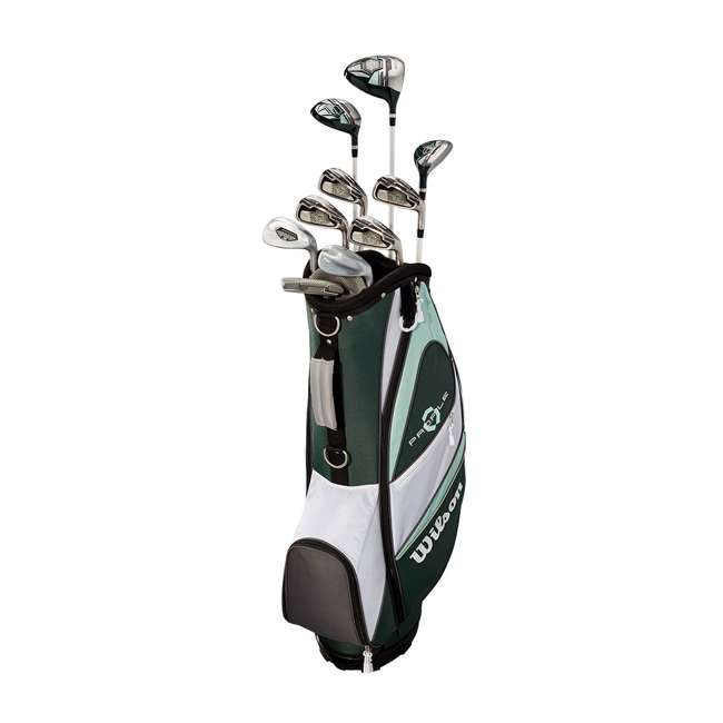 WGGC4380L + WGWP40800 Wilson Profile XLS Women's Left Hand Graphite Golf Club Set & Balls 2