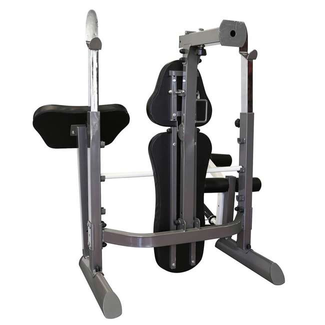 MWB-50100-U-A Marcy Foldable Mid Size Multi Function Rack Style Workout Bench (Open Box) 1