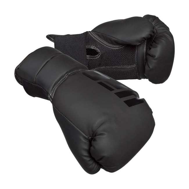14434P-010716-BXGGLV16 Century Martial Arts UFC Men's 16 Oz Boxing Gloves, Black (2 Pack) 1