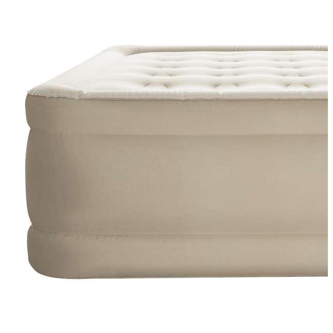 "69025E-BW-U-B Bestway Fortech 20"" Inflatable Queen Airbed Air Mattress w/ Built-In Pump (Used) 4"