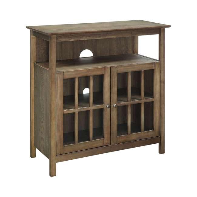 R3-0192 Convenience Concepts R3-0192 Big Sur Highboy TV Stand, Driftwood