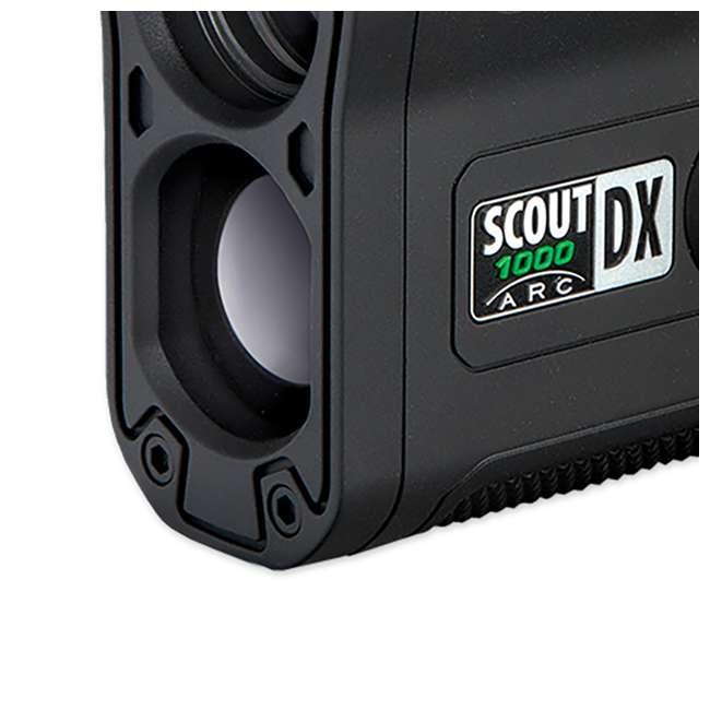 BSHN-202355 Bushnell Scout DX 1000 ARC 1000 Yard Laser Rangefinder, Black 3
