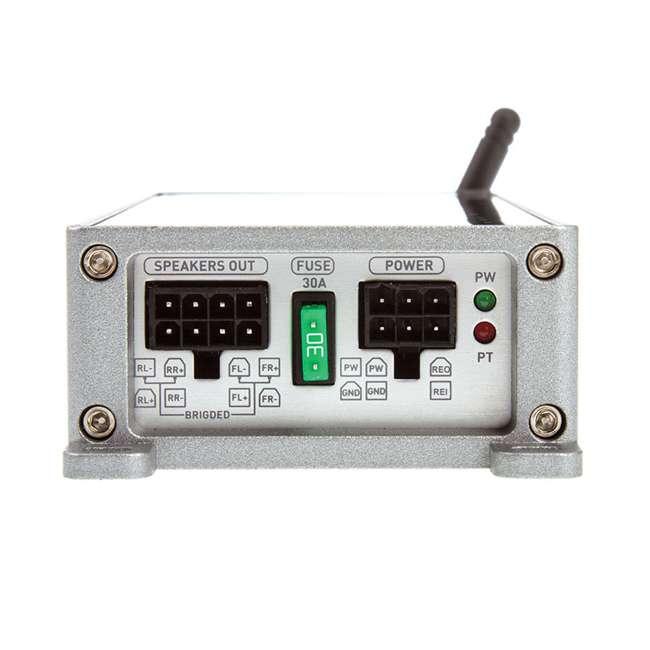 ST4.1000DB Soundstream Stealth Series 1000-Watt Bluetooth 4-Channel Amplifier (2 Pack) 2