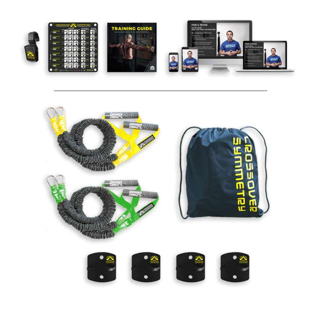 INA2 Crossover Symmetry Individual Exercise Package with Anchor Attachments, Novice