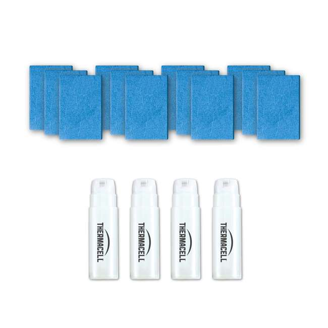 3 x E-4 Thermacell E-4 Mosquito Repellent Refills w/12 Mats & 4 Fuel Cartridges (3 Pack) 2