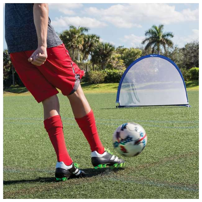 1-1-51852-DS Eastpoint Portable Twister 6 Foot Popup Soccer Goal 1