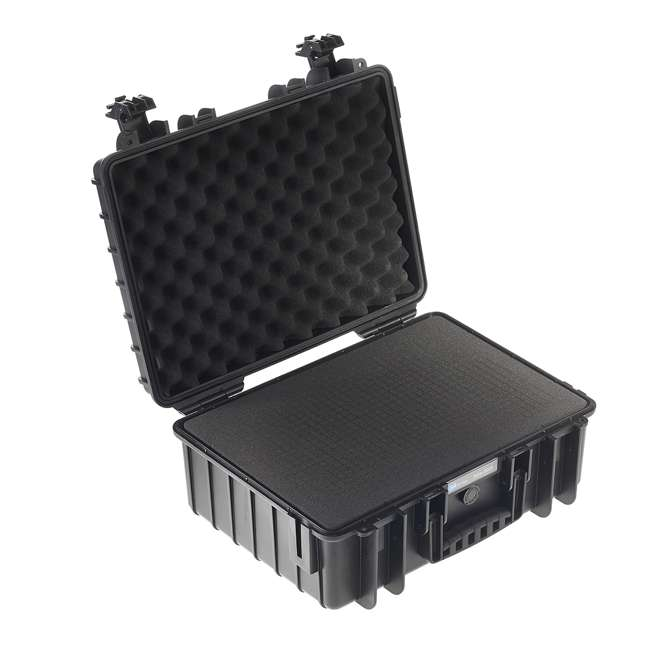 5500/B/SI B&W International 5500/B/SI Hard Plastic Outdoor Case w Removable SI Foam Insert 2
