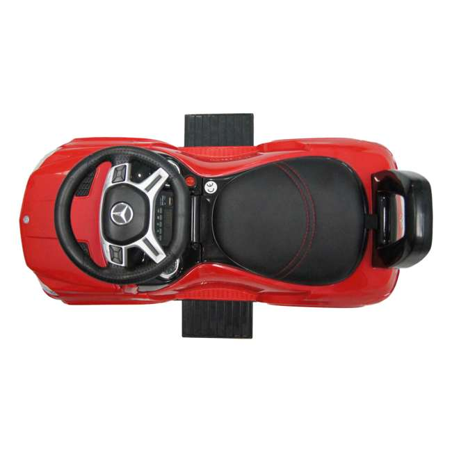 4 in 1 Mercedes Push Car Red Best Ride On Cars Baby 4 in 1 Mercedes Toy Push Vehicle, Stroller, & Rocker, Red 5