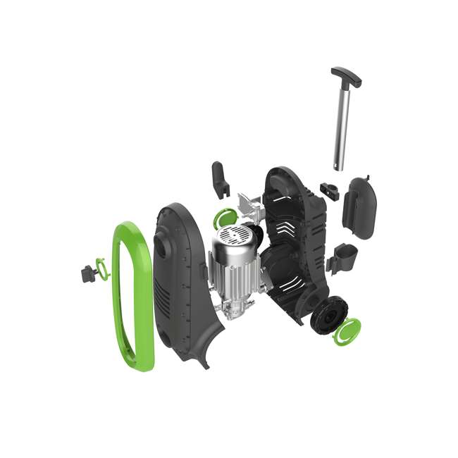 NXG-2200G-U-D Bloom USA PSI 1.76 GPM 14.5 Amps Electric Pressure Power Washer, Green (Damaged) 1