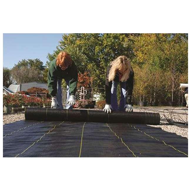 DWT-SB4100 DeWitt Sunbelt Woven Weed Control Garden Landscape Fabric Ground Cover, 4x100 Ft 4